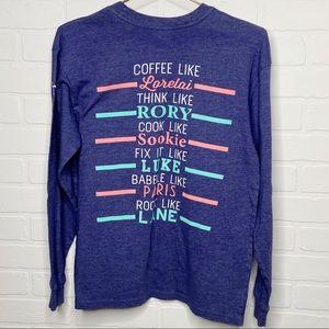 Jadelynn Brooke Gilmore Girls coffee t-shirt small